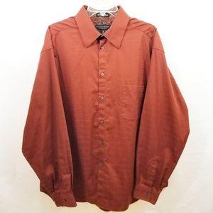 Men's Crazy Horse Button up Shirt